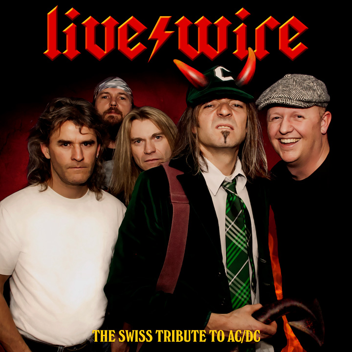 Do you like AC/DC? live/wire is a tribute to the legends of Rock 'n' Roll. Check out the Best Swiss AC/DC Tribute Band